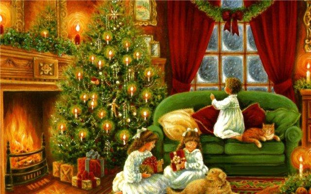 Украшение на новый год с детьми